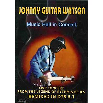 Watson, Johnny Guitar - Music Hall in Concert [DVD] USA import