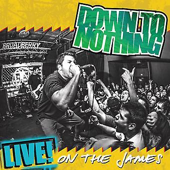 Ned til noget - Live! James [Vinyl] USA import