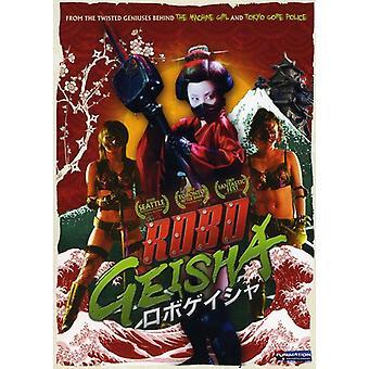 Robogeisha [DVD] USA importerer