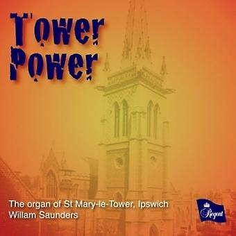 Guilmants/Williams - Tower Power [CD] USA importerer
