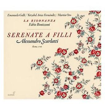 A. Scarlatti - Alessandro Scarlatti: Serenate a Filli [CD] USA import