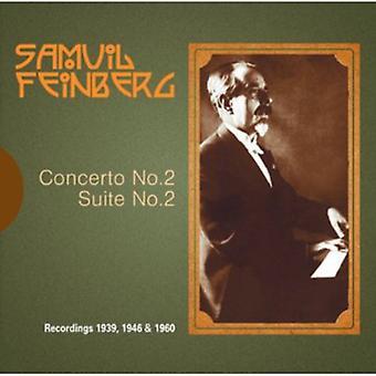 USSR State Symphony Orch - Samuil Feinberg: Klaverkoncert No. 2; Suite for klaver [CD] USA importerer