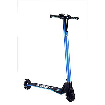 Scooter electric neon blue carbon