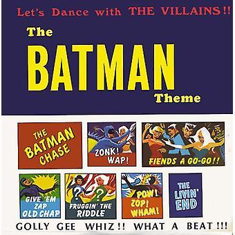 Batman Theme - Dance with the Villains [CD] USA import