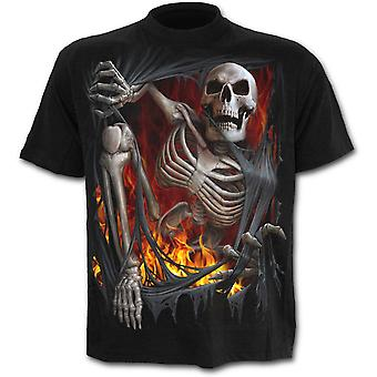 Spiral - DEATH RE-RIPPED - Men's Black Short Sleeve T-Shirt