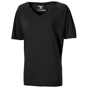 Esecuzione camicia Racerback tank top black di ASICS donna - 131852-0904