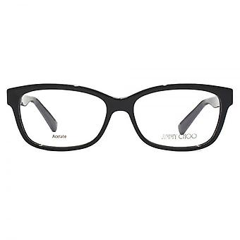 Jimmy Choo JC110 Glasses In Shiny Black
