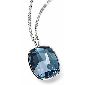 925 Silver Swarovski Crystal Necklace