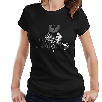 Mick Ronson Jeff Beck Spiders From Mars David Bowie Women's T-Shirt