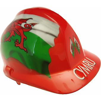 Wales Themed Hard Hat