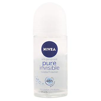 Nivea Pure Invisible Deodorant Roll On 50 ml (Woman , Cosmetics , Body Care , Deodorants)