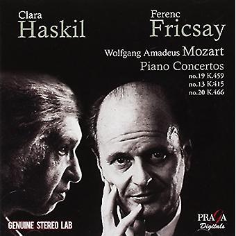 Mozart / Haskill, Clara - Piano Concertos ændringsforslag 13 & 19 & 20 [CD] USA import