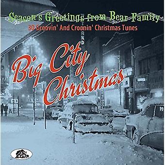 Forskellige kunstner - Big City jul [CD] USA importerer