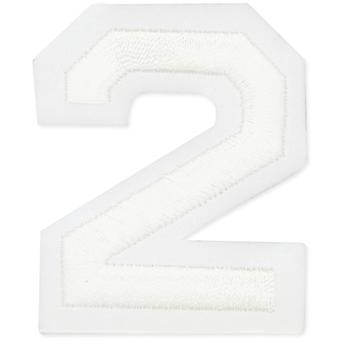 Iron-On Embroidered Letters & Numbers 2