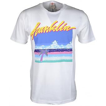 Franklin & Marshall 248an Jersey rotondo collo t-shirt bianca