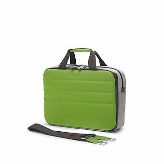 "Fedon 1919 Ninja Collection NJ File 2 Doc Bag Green Premium Aktentasche 13"" Laptop Notebook MacBook Tasche Grün"