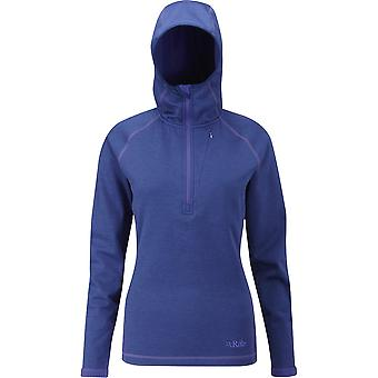 Rab Womens Nucleus Hoody Blue Print (UK Size 14)