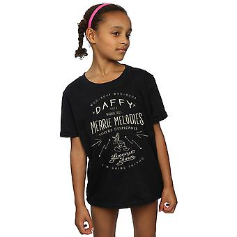 Looney Tunes Girls Daffy Duck Despicable T-Shirt