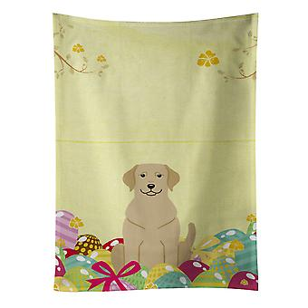 Carolines Treasures  BB6055KTWL Easter Eggs Yellow Labrador Kitchen Towel