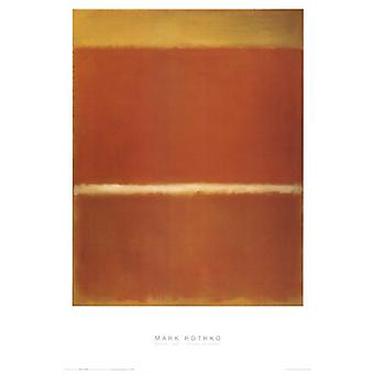 Saffraan Poster Poster Print by Mark Rothko