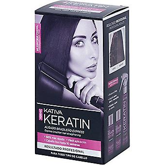 Kativa Kit of Keratin Smoothed Brazilian Xpress (Hair care , Styling products)