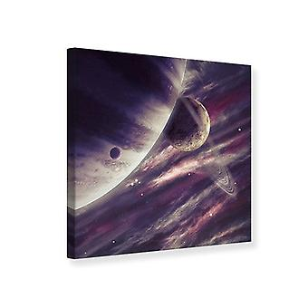 Canvas Print Space Travel
