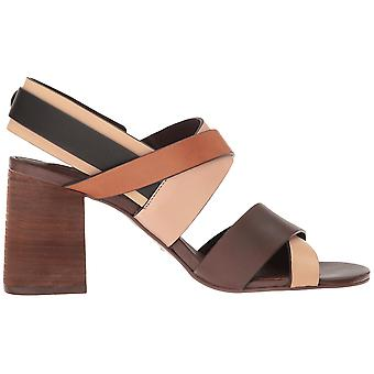 See by Chloé women's SB28277 brown leather sandals
