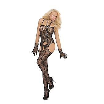 Elegant Moments EM-1612 Spitzen Straps Bodystocking