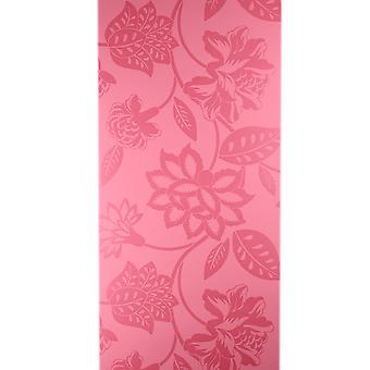 Sanderson Pink Wallpaper Roll - Floral Flat Cybele Design - Colour: DAMPCY106