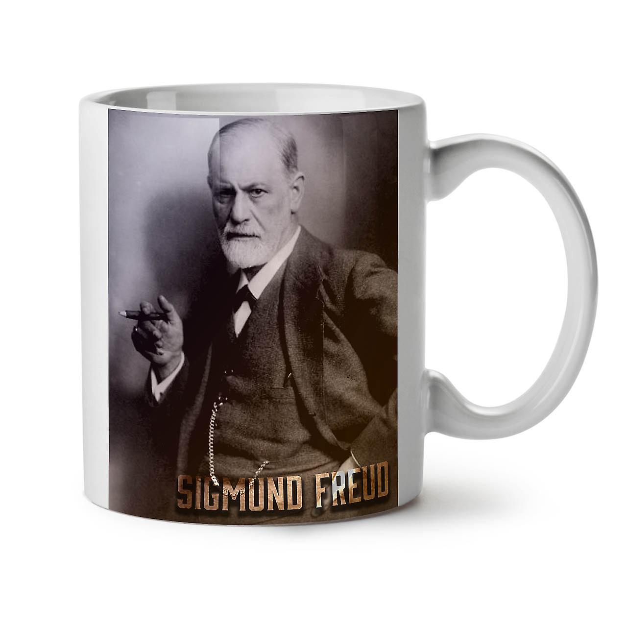 Nouveau Sigmund Thé Blanc OzWellcoda Tasse 11 Céramique Freud Café tsCrdhQ