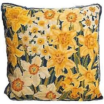 Narcissi and Daffodils Needlepoint Canvas