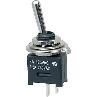 Toggle switch 250 V AC 3 A 1 x Off/On SCI MTE101A1