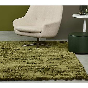 Rugs -Singapore in Olive Green
