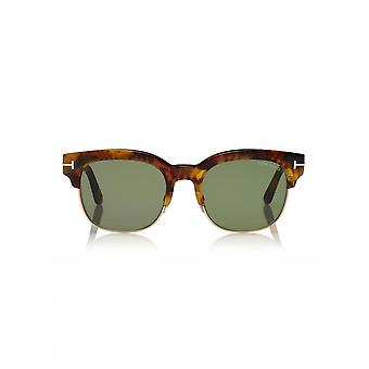 Tom Ford Tom Ford Havana & Green Harry Sunglasses