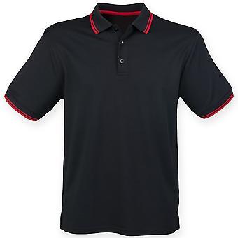 Henbury Mens Short Sleeve Coolplus Polo Shirt