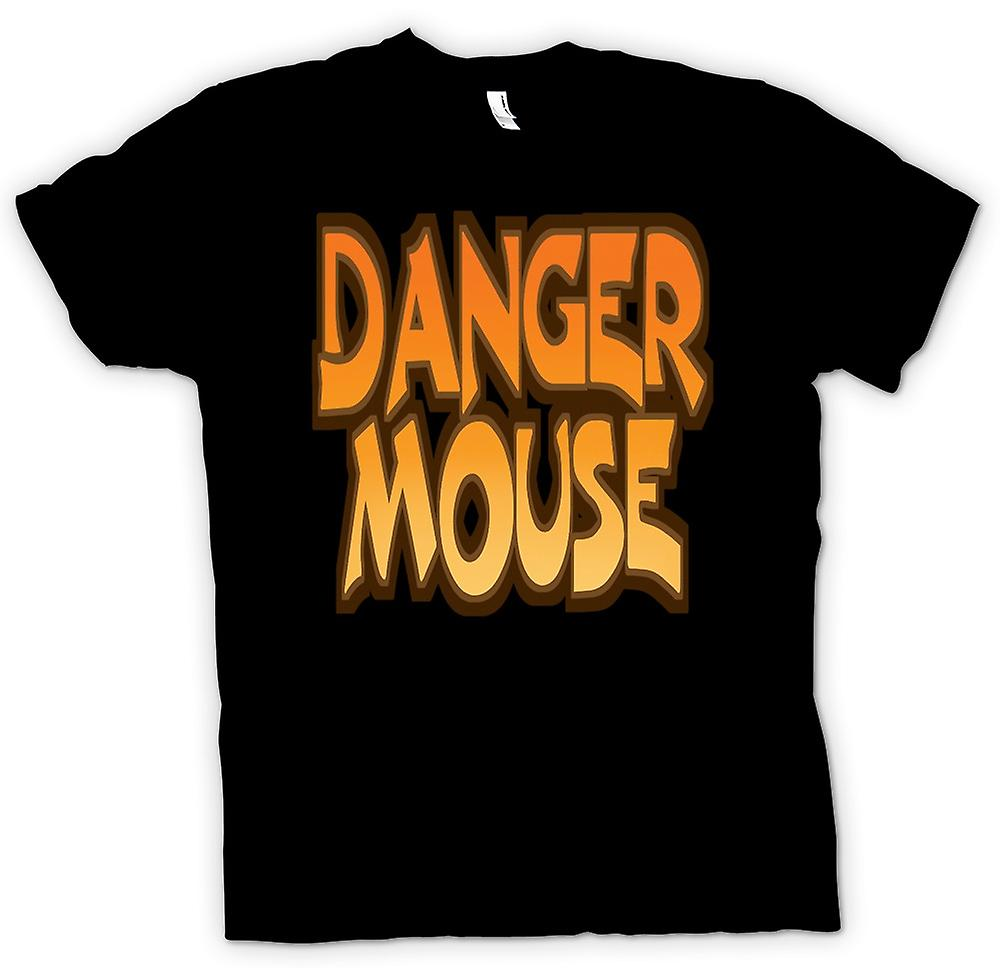 Womens T-shirt - Danger Mouse - rolig