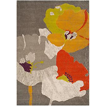 Short-pile woven rug living room indoor carpet colorful flowers of indoor rugs - Pacific Orchid multicolor 157 / 230 cm - rug for the living room inside