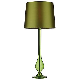 Dillon Table Lamp Sage Green complete with Shade