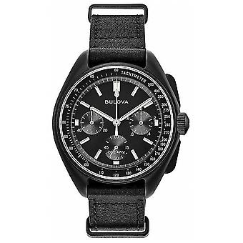 Bulova Mens Special Edition Lunar Pilot Chronograph 98A186 Watch