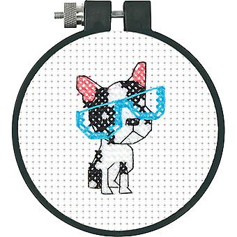 Learn-A-Craft Smart Dog Counted Cross Stitch Kit-3