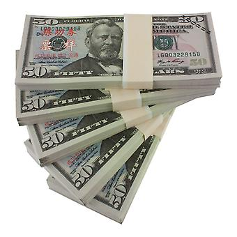 Play money-$ 50 (100 banknotes)