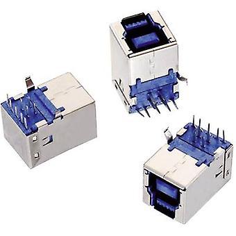 Socket, horizontal mount WR-COM Würth Elektronik Content: 1 pc(s)