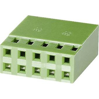 TE Connectivity Socket enclosure - cable AMPMODU MOD IV Total number of pins 8 Contact spacing: 2.54 mm 925367-4 1 pc(s)
