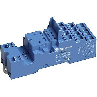 Relay socket 1 pc(s) Finder 94.54 Compatible with series: Finder 55 series, Finder 99 series Finder 55.32, Finder 55.34