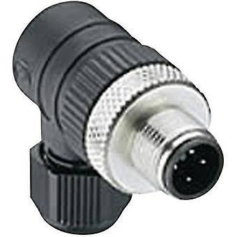Lumberg Automation 108654 RSCW 4/9 M12 Black