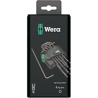 TORX socket Allen key set 9-piece Wera 967 PKL/9 SB SiS