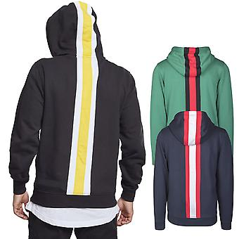 Urban classics - back stripe Fleece Hoody