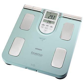 Omron BF511 Turquoise HBF-511TE Family Body Composition Monitor
