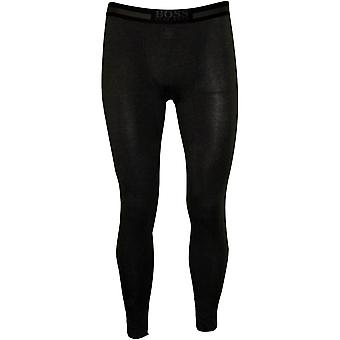 Hugo Boss Luxe thermische + Long John Hose, schwarz