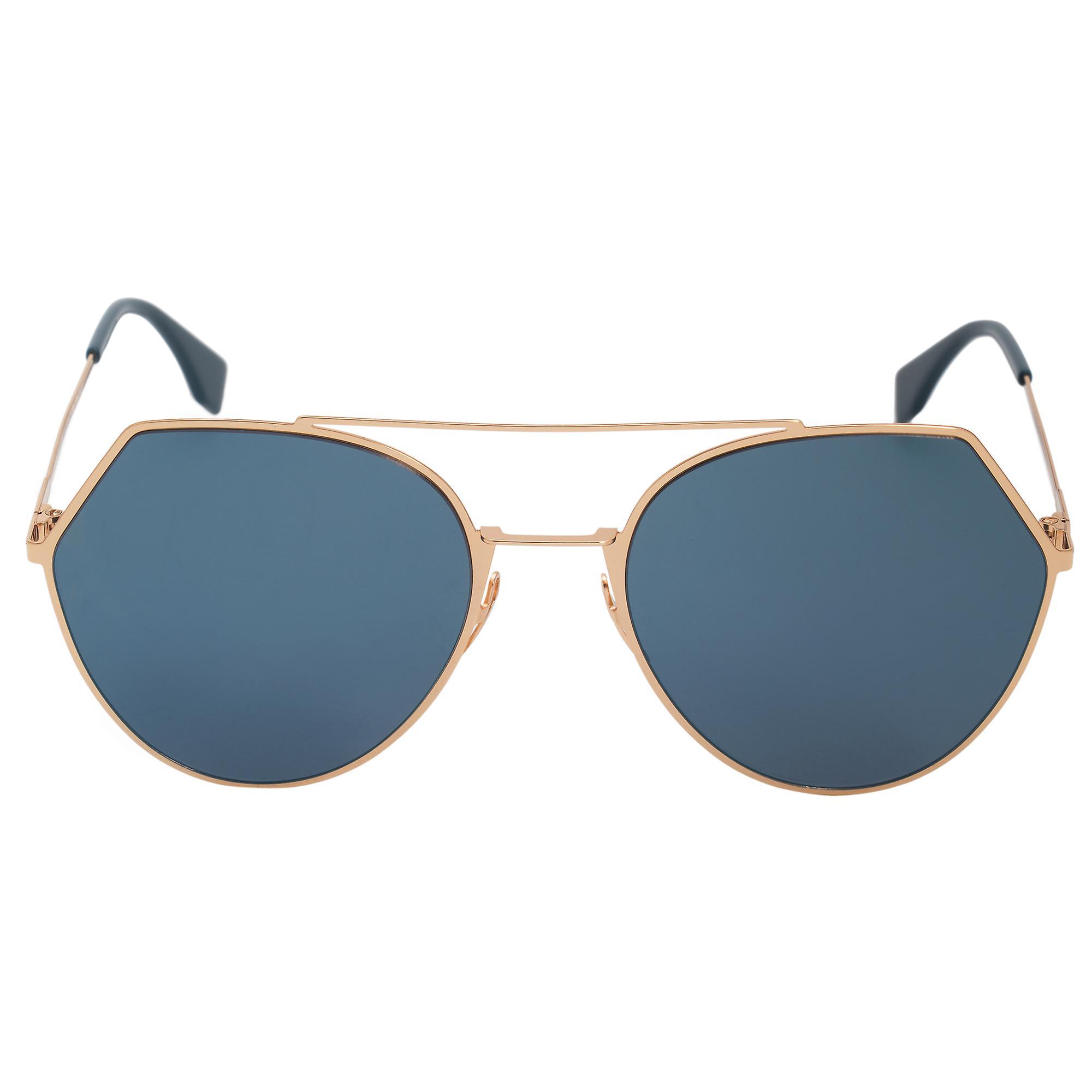 Fendi Eyeline lunettes de soleil pilote FF0194S 2 a 000 55